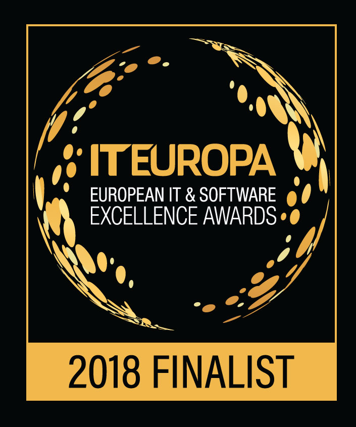image of logo for finalist in 2018 IT Europa Awards